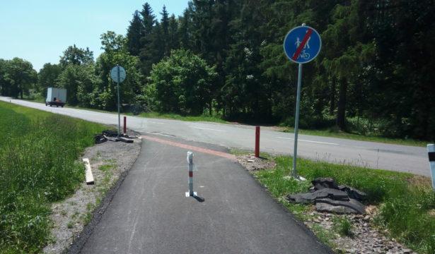 Cyklostezka Polička - Bořiny,                                         a cyklostezka Polička - Modřec